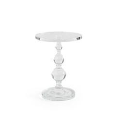 All Clear - Acrylic Pedestal Side Table