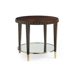Catch A Glimpse... - Cherry Blossome Mahogany Side Table