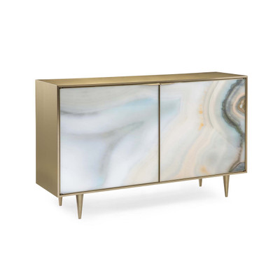 Extrav-Agate - Two Drawer Agate Cabinet