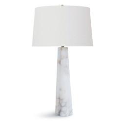 Alabaster Large Quatrefoil Lamp