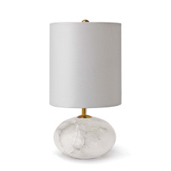 Alabaster Orb lamp