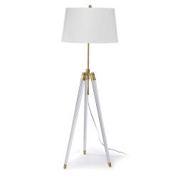 Brigitte Floor Lamp - Brass