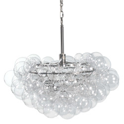 Bubbles Chandelier - Clear