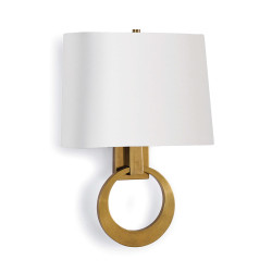 Engage Sconce - Natural Brass