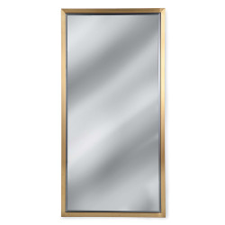 Rectangle Mirror - Brass