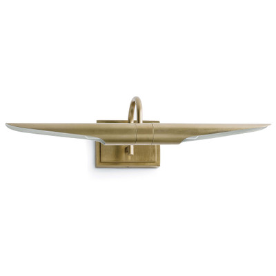 Redford Picture Light - Natural Brass