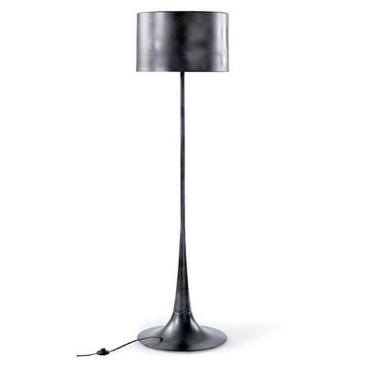 Trilogy Floor Lamp in Black Iron