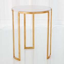 Channel Accent Table - Gold Leaf