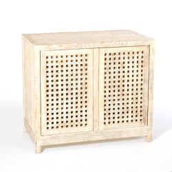 Driftwood Lattice 2 - Door Cabinet