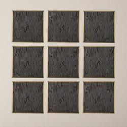 Forest Panel - Bronze/Brass
