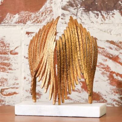 Icarus Sculpture - Brass