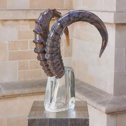 Kudu Head Sculpture