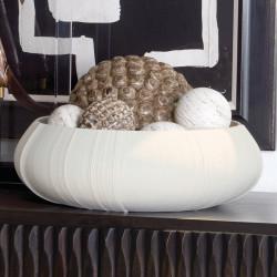 Linen Centerpiece - Soft White