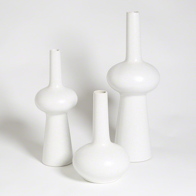 Lunar Vase - Matte White - Sm
