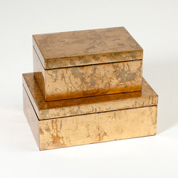 Luxe Gold Leaf Box - Lg