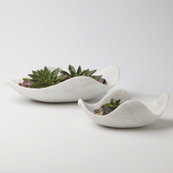 Marble Dove Bowl - Lg