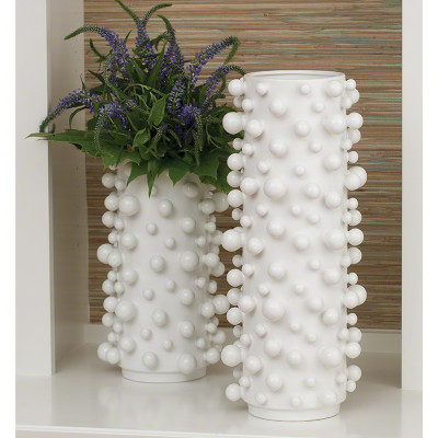 Molecule Vase - Matte White - Sm