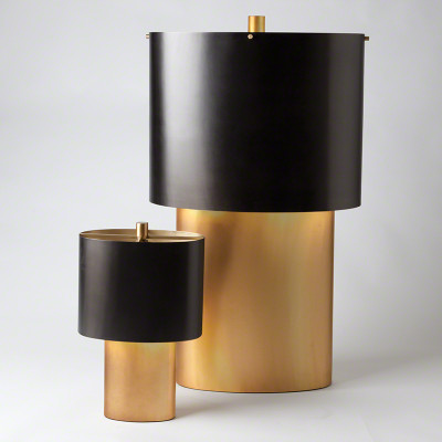 Nordic Gold Table Lamp - Lg