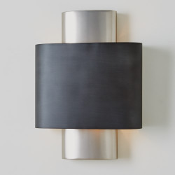 Nordic Wall Sconce - Antique Nickel - Hardwired