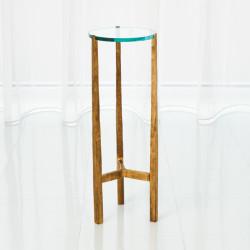 Oculus Table - Antique Gold