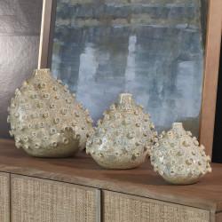 Sea Coral Vase - Blue/Green - Med