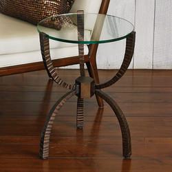 Teton Accent Table - Bronze