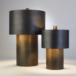 Tortoise Drum Lamp - Lg