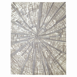 Vortex Rug - Ivory/Natural/Grey - 6' x 9'