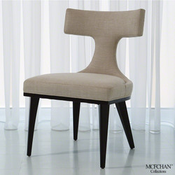 Anvil Back Dining Chair - Woven