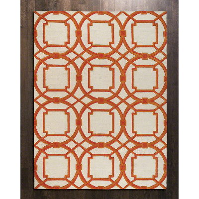 Arabesque Rug - Coral - 8' x 10'