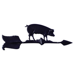 "24"" Hog Accent Weathervane main image"