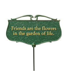 """Friends are the Flowers..."" Plaque main image"