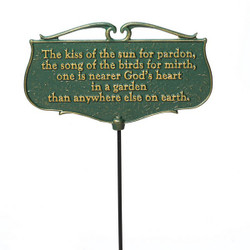 """The Kiss of the Sun..."" Plaque main image"
