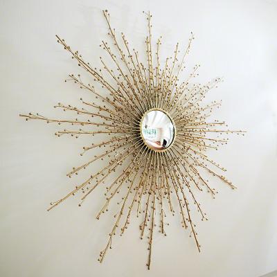 Berries Mirror - Brass