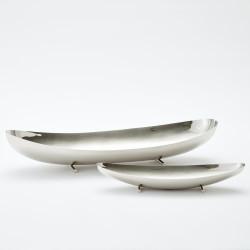 Boat Bowl - Nickel - Lg