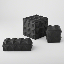 Braque Box - Matte Black - Lg