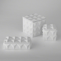 Braque Box - Matte White - Lg
