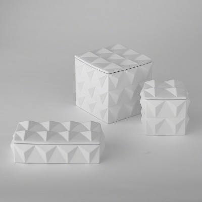 Braque Box - Matte White - Sm