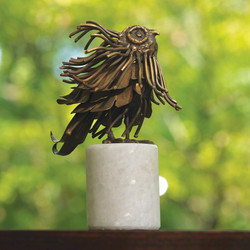 Brass Mod Owl