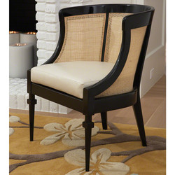 Cane Chair - Black