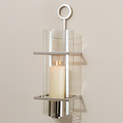Circle in Square Wall Sconce