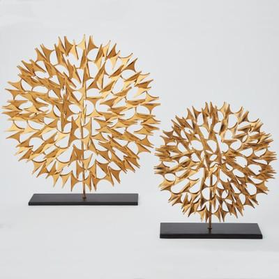 Cosmos Sculpture - Gold - Lg