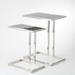 Cozy Up Table - Stainless Steel Finish - Lg