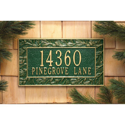 Pinecone Plaque main image