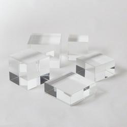 Crystal Cube Riser - Lg