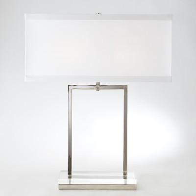Crystal Slab Lamp