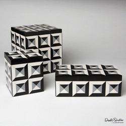 Deco Border Square Box - Sm