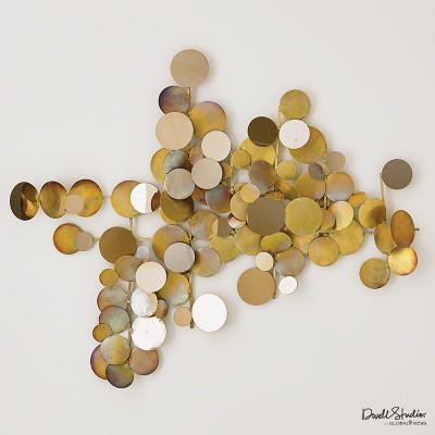 Dot Wall Decor - Brass/Gold