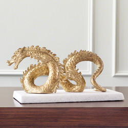 Dragon - Gold Leaf