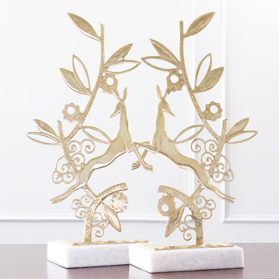 Enchanted Forest Sculpture - Brass - Each